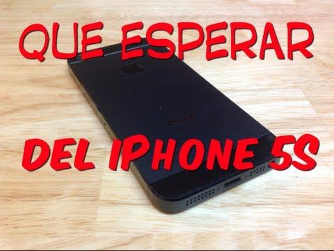 iPhone 5S, lo que podríamos esperar