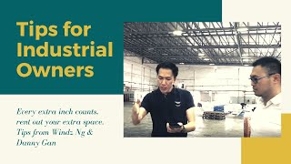 Every extra inch counts - Tips from Windz Ng & Danny Gan - Warehouse Space in Puchong, Malaysia