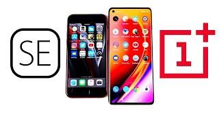 iPhone SE 2020 vs OnePlus 8 Speed Test!