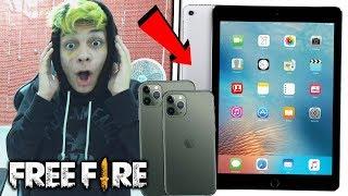 ¡ESPECIAL 1 MILLÓN NIMOTV! SORTEO iPad y iPhone 11 para FREE FIRE!! *épico*