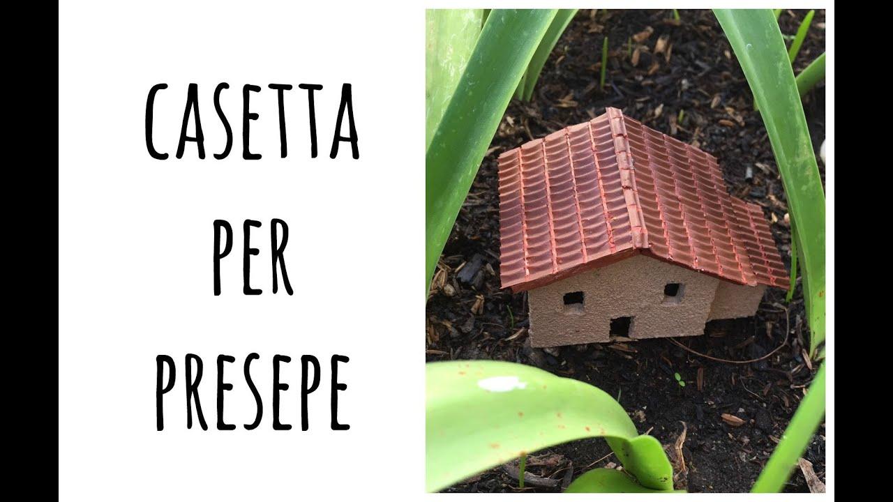Come fare una casetta per il presepe natale modellistica for Costruire una semplice capanna di legno