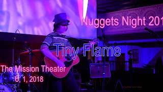 Baixar Tiny Flame -Rainy Day Mushroom Pillow- (Strawberry Alarm Clock) at Nuggets Night,   6, 1, 2018