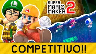 NADA POR TU VIDA!! | 🔨 Competitivo en Super Mario Maker 2 🔨 | -- RED SHOCK --