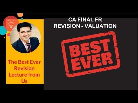CA FINAL FR Revision Valuation By CA Sarthak Jain