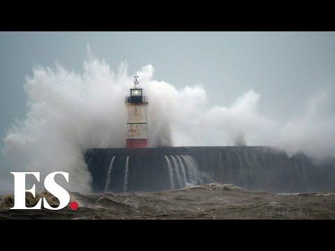 Storm Ciara: Travel disruption as UK hit by severe gales
