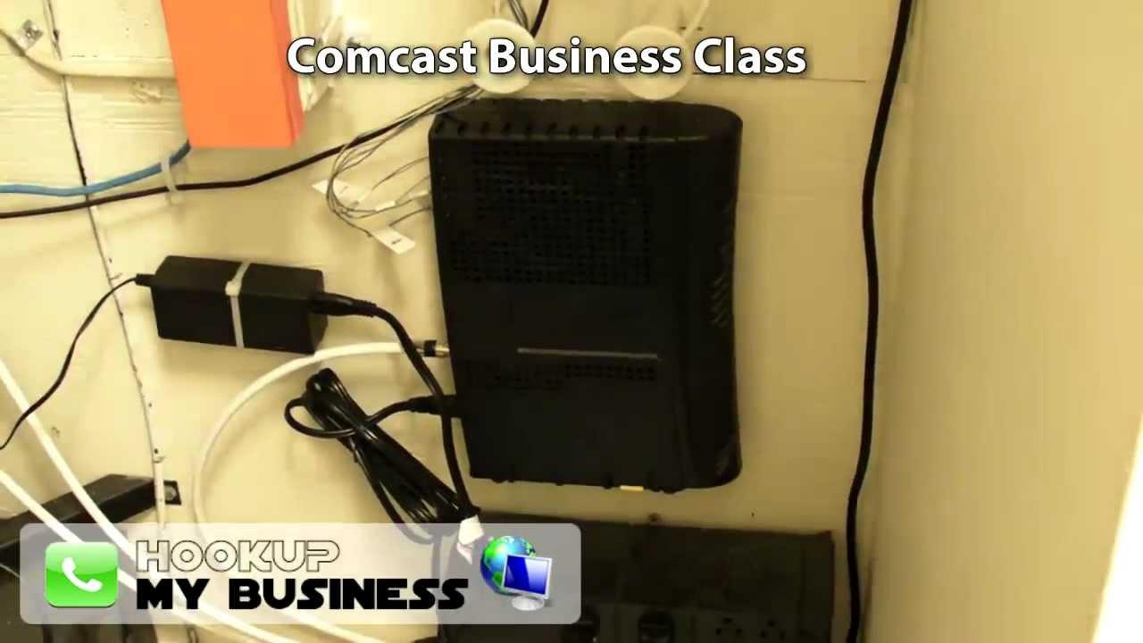 medium resolution of comcast business class phone internet equipment tour