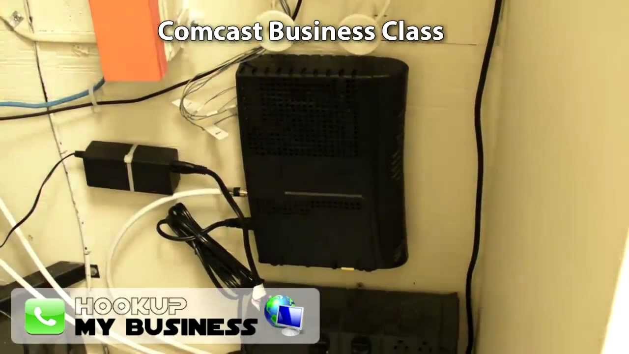 comcast business class phone internet equipment tour youtube comcast phone modem diagram [ 1280 x 720 Pixel ]