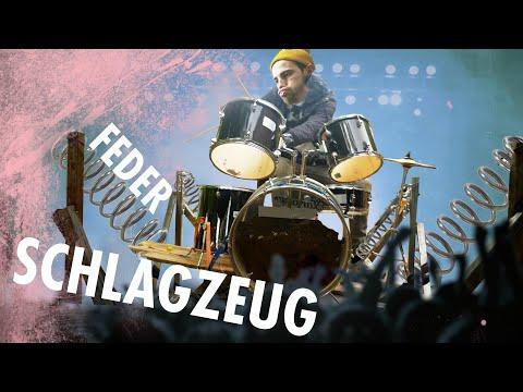 Schleuder-Schlagzeug | Wackel Boingy Drums bauen