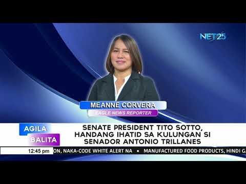 Senate President Tito Sotto, handang ihatid sa kulungan si Senador Antonio Trillanes