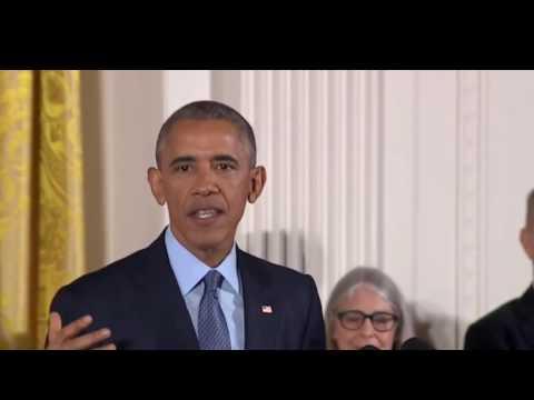FULL EVENT President Obama Awards the Presidential Medal of Freedom. Nov 22. 2016. Michael