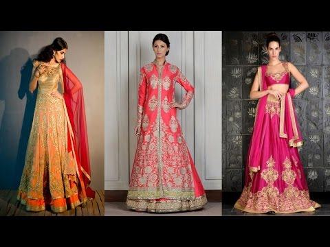 Top Wedding Lehenga Designs for 2016 - 2017