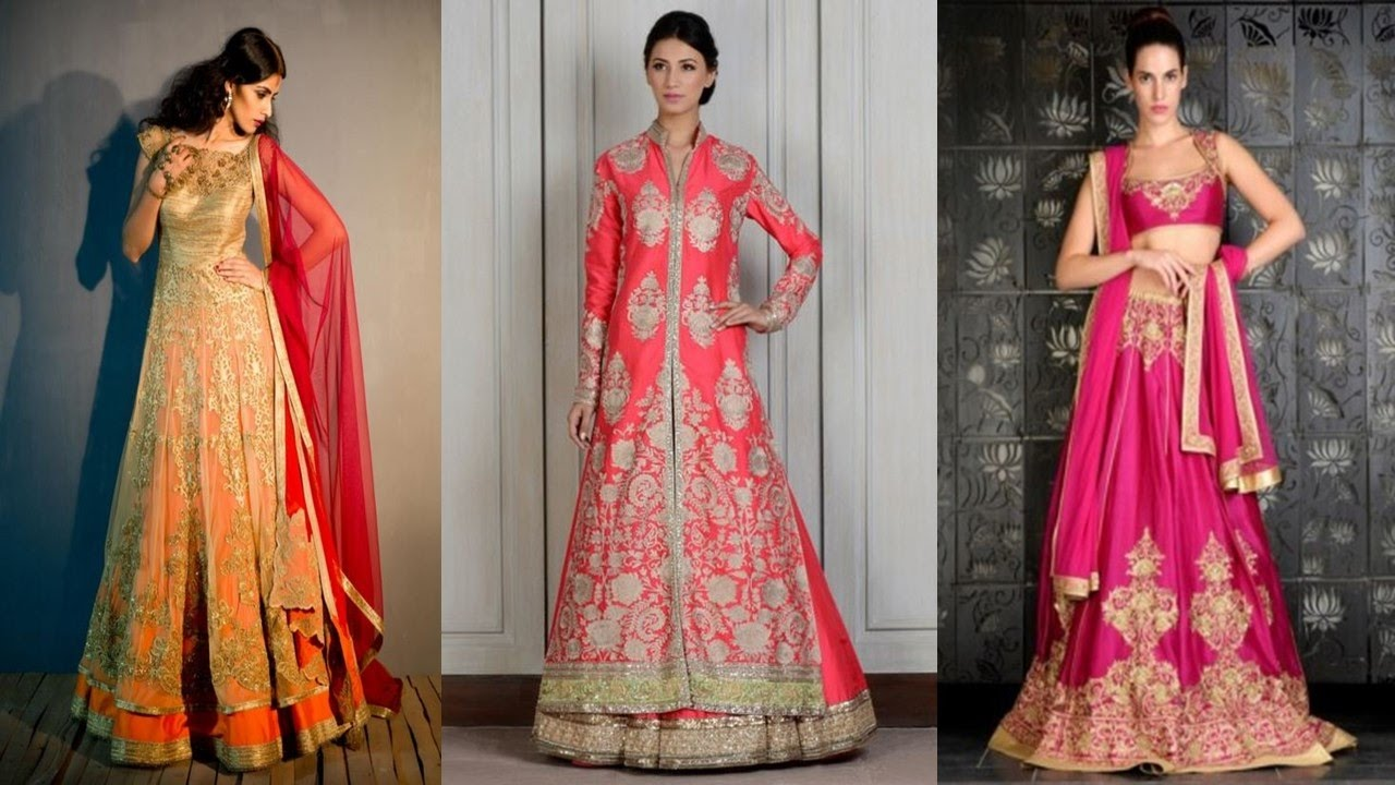Top Wedding Lehenga Designs for 2016 - 2017