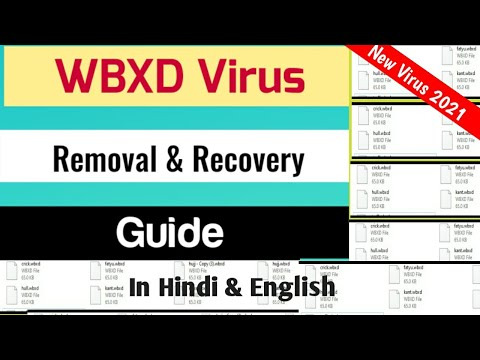 WBXD Virus File Ransomware [.Wbxd] Removal and Decrypt Guide to recover encrypted. WbxdFiles