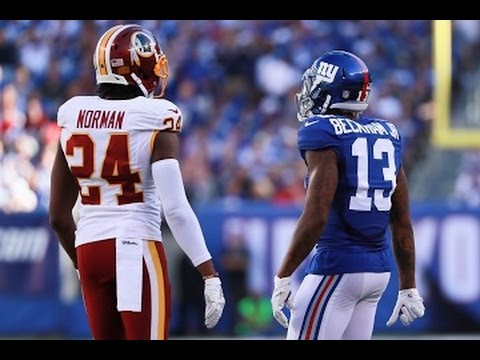 Odell Beckham Jr vs Josh Norman || Full Game Highlights ᴴᴰ