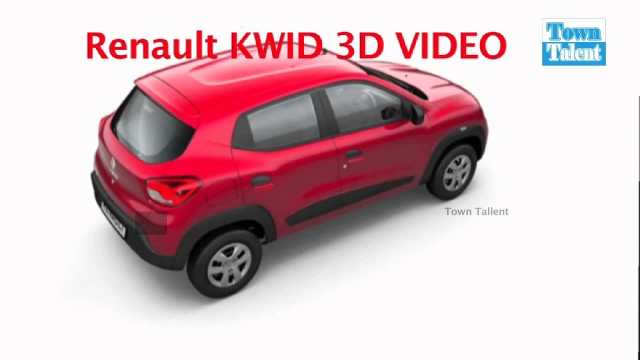renault india cars by upcoming cars in india renault kwid features and colours 3d video