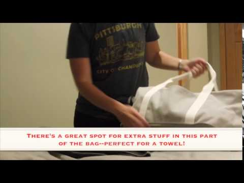 Lo   Sons Large Canvas Weekender Review - YouTube dc8984ed80c06