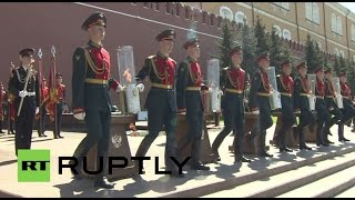 LIVE: Moscow hosts Victory Day Parade on 70th anniversary of the Great Patriotic War (English audio)(A military parade is due to be held on Moscow's Red Square to commemorate the 70th anniversary of Victory in the Great Patriotic War of 1941-1945. A total of ..., 2015-05-09T09:06:34.000Z)