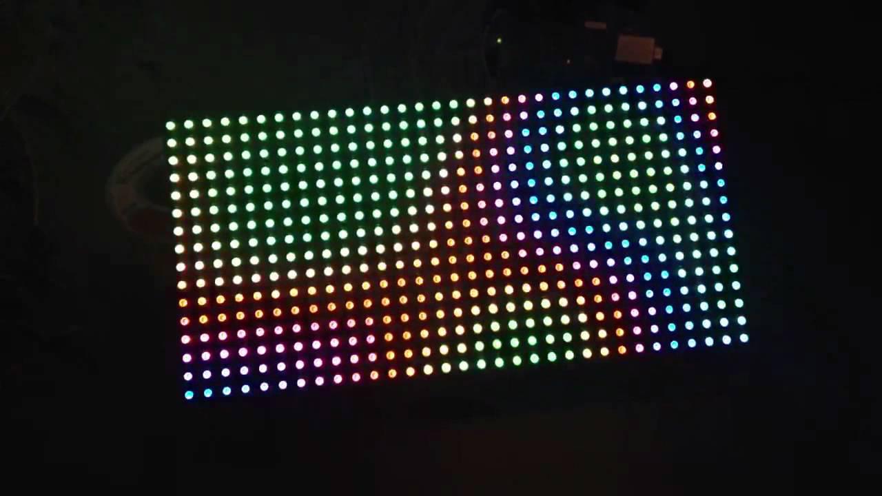 Arduino 32x8 Led Dot Matrix Project - ldsartstore