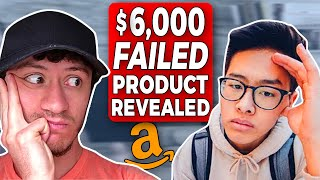 Elliot's $6,000 Failure With Amazon FBA -TWO FAILED Products Revealed & Lessons Learned
