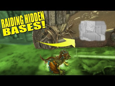 RAIDING SNEAKY HIDDEN BASES! (Pvp) - Ark: Aberration - Ep.8
