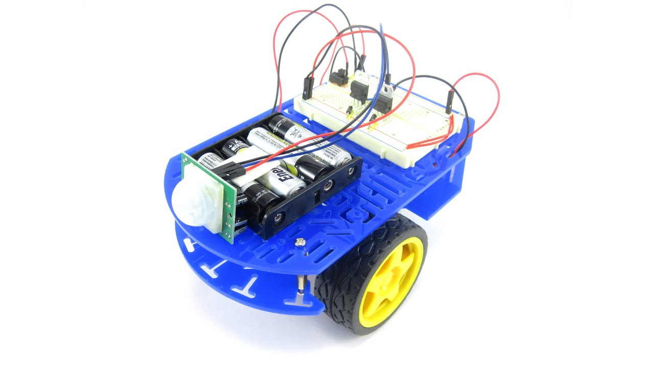 Build a Motion-Activated Guard Robot (BlueBot Project #1