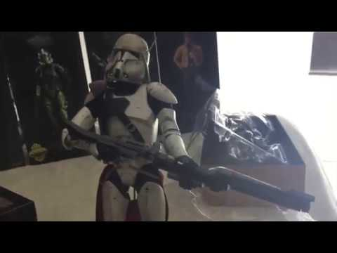 commander bacara clone wars sideshow star wars youtube