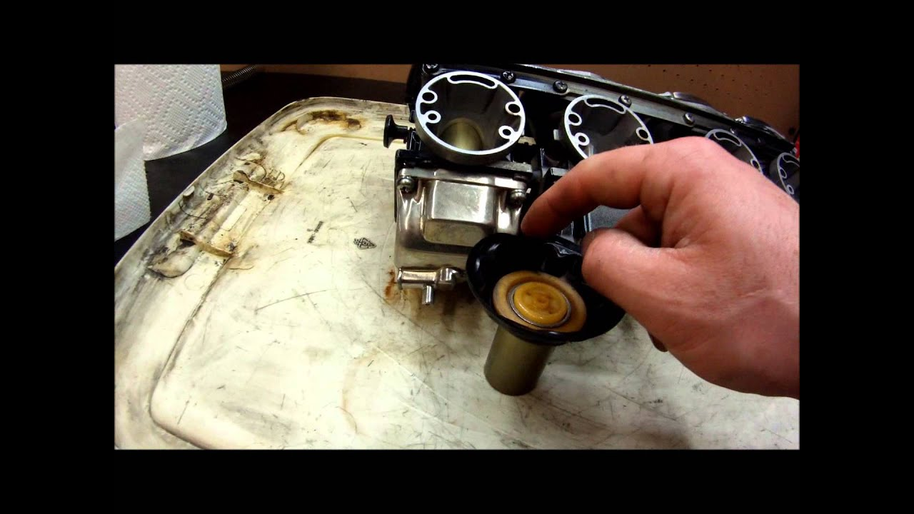 Checking Carburetor Slide Diaphragms For Problems Youtube Kawasaki Vulcan Wiring Diagram Premium