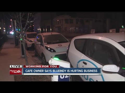 Indianapolis cafe owner says Blue Indy is hurting his business