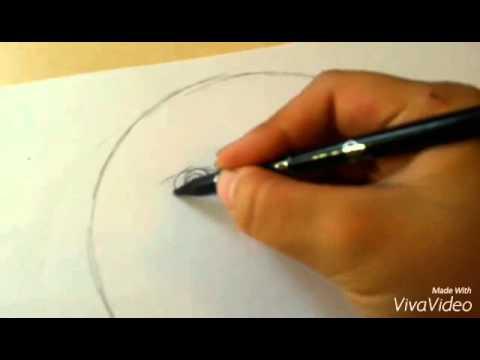 Учимся рисовать смайлик(колобок)