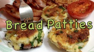 Bread Patties Vegetarian Budget Video Recipe cheekyricho