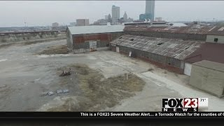 VIDEO: Tulsa continues clean up at industrial site near Greenwood