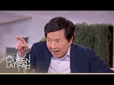 Ken Jeong and Elisabeth Rohm on The Queen Latifah