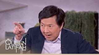 Ken Jeong and Elisabeth Rohm on The Queen Latifah Show