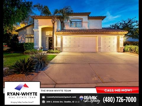 Chandler AZ Homes - Stillwater Cove - 3201 S Horizon Place WATERFRONT