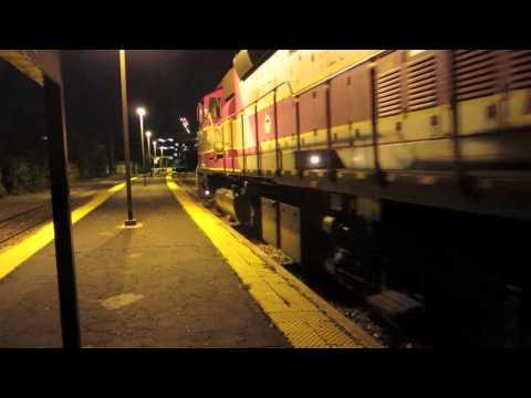 Guy Walks into Door on MBTA Commuter Rail