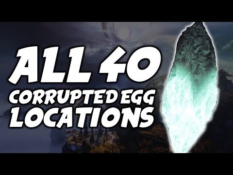 ALL 40 Corrupted/Taken Egg Locations - Dreaming City Guide [Destiny 2 Forsaken]
