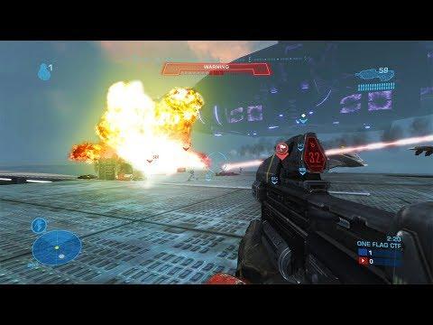 HALO'S BIGGEST MULTIPLAYER MATCH EVER - Halo Reach PC Mod Extinction