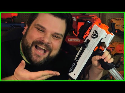 NERF Rival Phantom Corps HELIOS Review! 👑👑👑