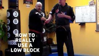 Penacook School Martial Arts/Low Counter Fingerlock for Push