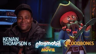 PLAYMOBIL: THE MOVIE | FEATURETTE | Kenan Thompson is Bloodbones