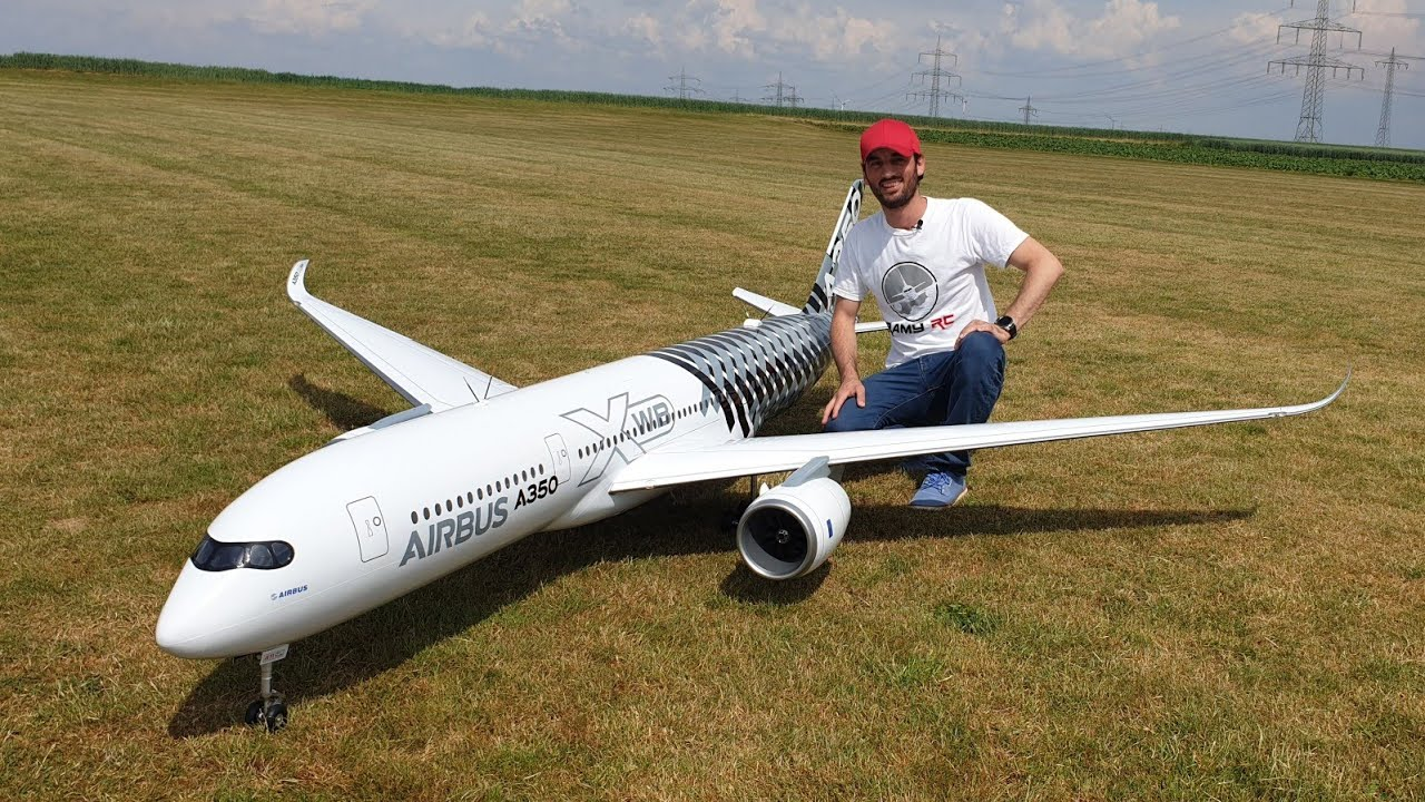 Download BUILDING A GIANT RC AIRBUS A350 XWB, FINAL