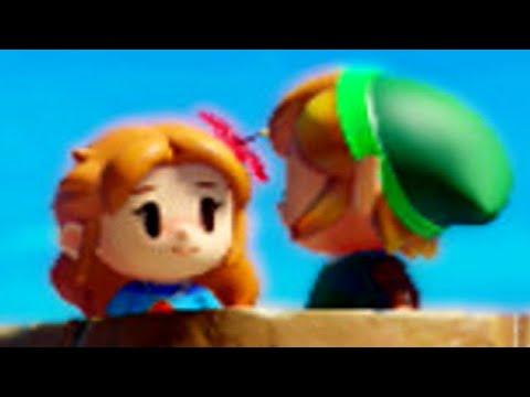 Zelda Link S Awakening Switch Special Link Marin Interactions