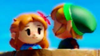 Zelda: Link's Awakening (Switch) - Special Link & Marin Interactions