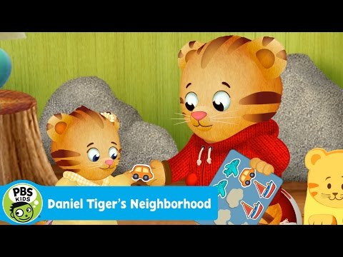 DANIEL TIGER'S NEIGHBORHOOD  Oh No! Margaret Wants My Stickers  PBS KIDS