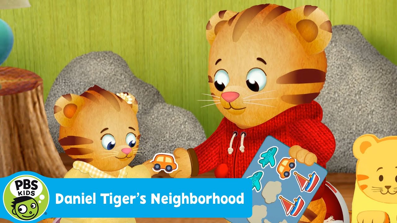 DANIEL TIGER\'S NEIGHBORHOOD | Oh No! Margaret Wants My Stickers ...