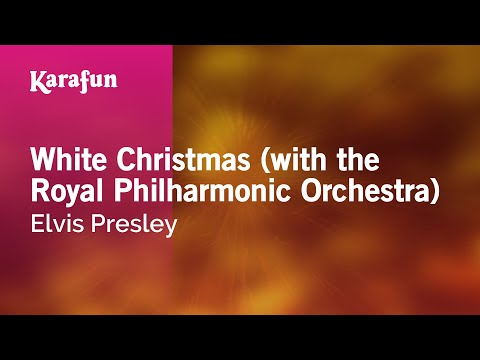 Karaoke White Christmas (with the Royal Philharmonic Orchestra) - Elvis Presley *
