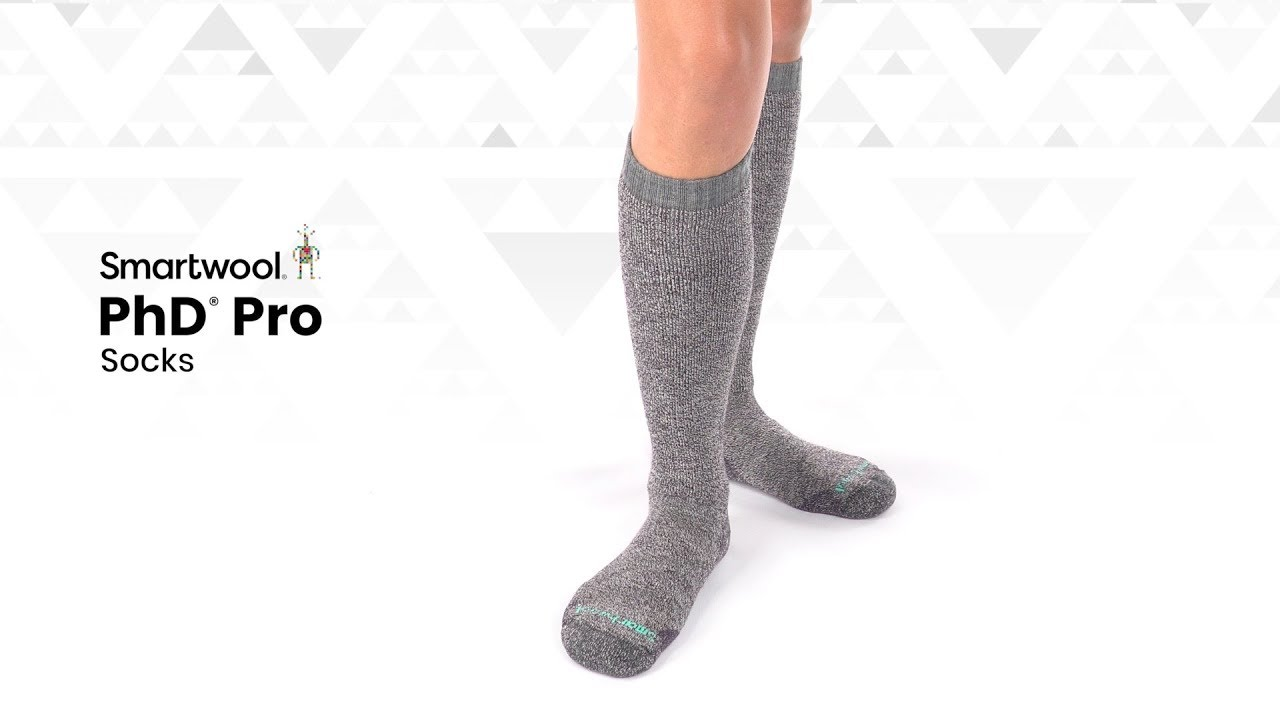 b85d7eac1a994 Smartwool | PhD Pro Socks - YouTube