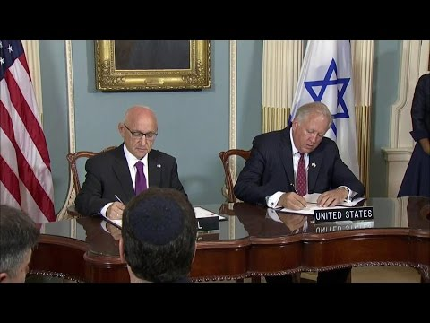 New 10-Year Memorandum of Understanding with Israel on Security Assistance