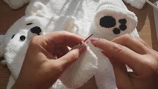 Вяжем спицами ПИНЕТКИ без шва для новорожденного 1 ЧАСТЬ