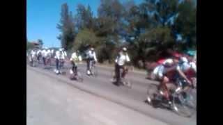peregrinacion ciclista de comonfort ala basilica de Guadalupe